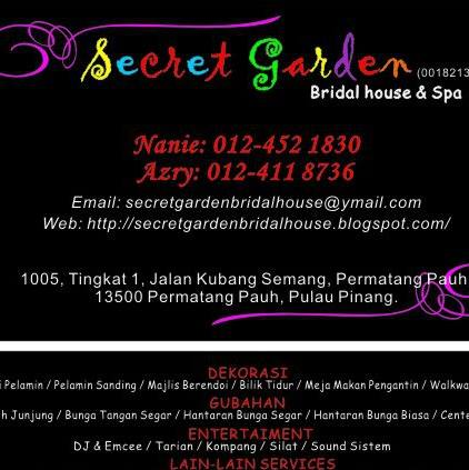 Secret Garden Bridal House