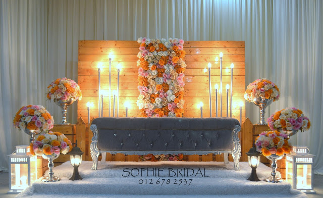 Promosi Pelamin Rustic Pallet Hipster By Sophie Bridal