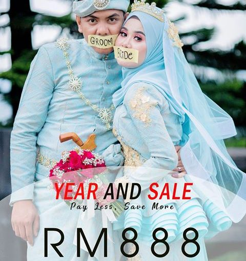Year And Sale!!! . Promotion Wedding Photography