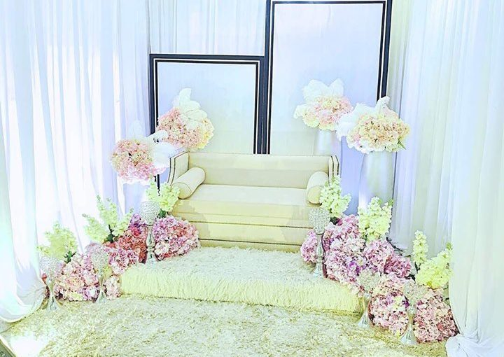 . Mini Pelamin For Engangement And Solemnization.