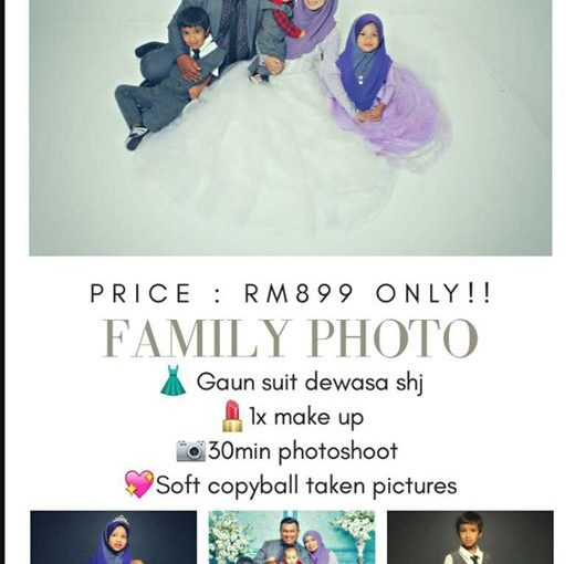 "[ Viralkan! ] : ""promo Photoshoot Family Ala Fairytales!"