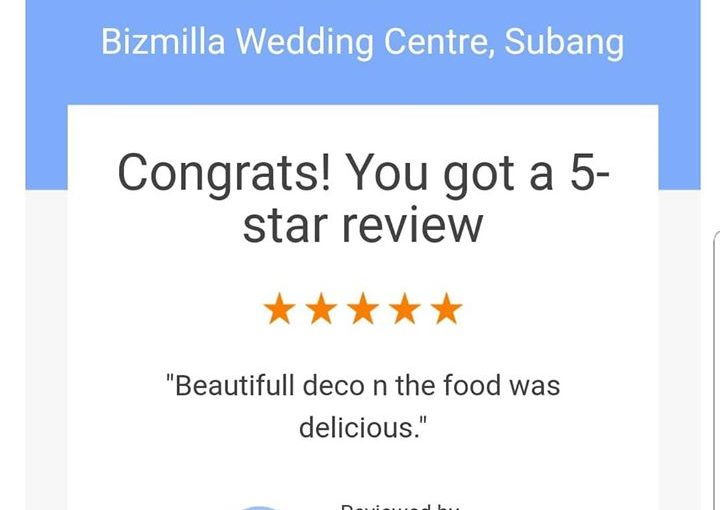 """the Food Was Delicious"" Terima Kasih Ms Zakiah For The 5"