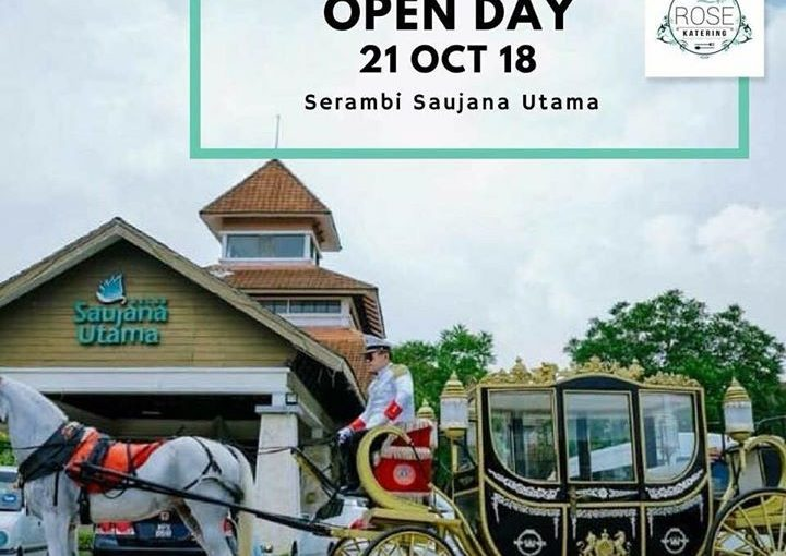 Open Day Today!!  Cinderella Bukan Lagi Fairytale!!